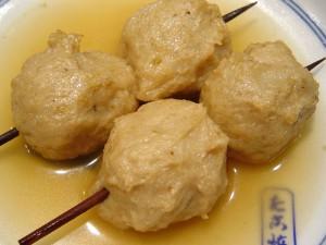 鰯だんごの関東煮(かんとだき/おでん)