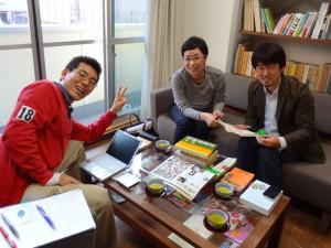 4年前の2011年11月1日、平松洋子さんが取材におみえになりました