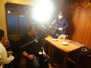 テレビ大阪「ニュースリアル」さんが、商品の撮影をされていま
