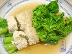 「菜の花」の関東煮(かんとだき/おでん)