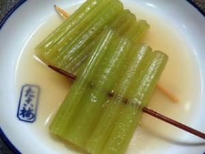 「蕗(ふき)」の関東煮(かんとだき/おでん)