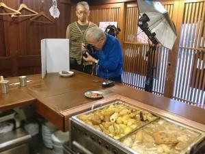 昭和の雰囲気を出すためフィルムカメラで撮影