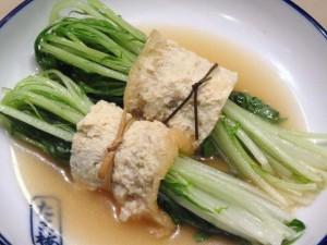 「水菜(みずな)」の関東煮(かんとだき/おでん)