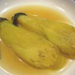 「焼き茄子(やきなす)」の関東煮(かんとだき/おでん)