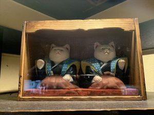 たこ梅 北店の中猫2体